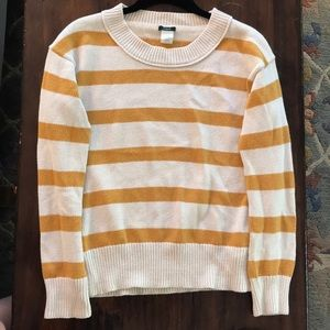 J.Crew Striped Crewneck Sweater